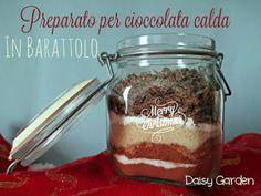 Preparato per cioccolata calda in barattolo