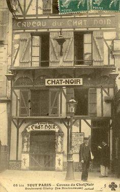Caveau du Chat Noir 66 bis, Boulevard de Clichy (La Douloureuse)