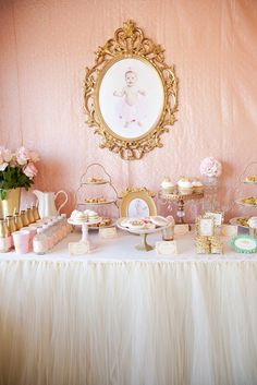 Royal Princess 1st Birthday Party via Kara's Party Ideas | KarasPartyIdeas.com (35)