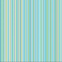 Cuba turquoise stripe wallpaper.: