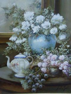 Painting by Lucia Sarto.