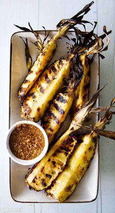 Grillattu ananas   Kotivinkki