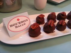 Kentucky Derby Party Recipes: Bourbon Balls