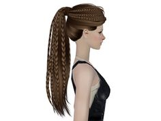 Sims 2 Female Hair