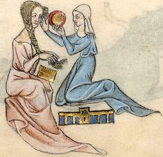Luttrell Psalter», Lincolnshire (England), c. 1320-1340 [BL Add MS 42130] -- Presentation at: http://www.bl.uk/manuscripts/FullDisplay.aspx?ref=Add_MS_42130