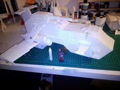 Thunderhawk+gunship+by+montrano.