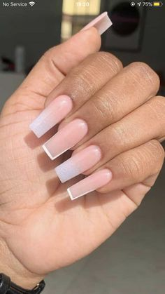 Drip Nails, Aycrlic Nails, Swag Nails, Cute Nails, Pretty Nails, Coffin Nails, Pink Nails, Cute Acrylic Nail Designs, Simple Acrylic Nails