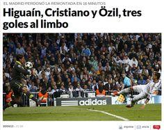 El Real Madrid pudo marcar tres veces en los primeros 16 minutos.