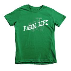 Farm Life Kids Soft Jersey T-Shirt