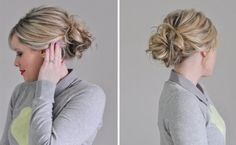 20 Low Buns to Make You Forget the Topknot via Brit + Co.