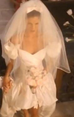 DIY Sewing The ORIGINAL November Rain Wedding Dress Design Details NOTE WAIST