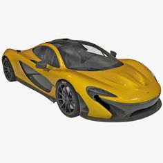 model: The McLaren is a high quality model that will enhance detail and realism to any of your rendering projects. The car has a fully textured, detailed design that allows for close-up renders, . Ferrari F40, Lamborghini Gallardo, Maserati, Bugatti, Mclaren P1, 3ds Max Models, Pagani Huayra, Mc Laren, Drag Racing