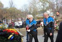 Kwiaty od Miechowickiego Klubu Honorowych Dawców Krwi / Fot. Piotr A. Jeleń