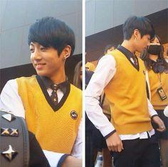 Jungkook at school