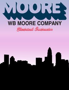 A simple design for a buyer's guide cover. The bottom image is an illustration of the Charlotte, NC skyline, which I created in Illustrator.