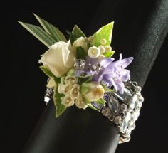 Wedding Corsages For Mothers   My Wedding Day Flower Monday- Bracelet Corsages   The Bridal Dish