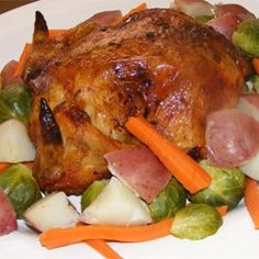 Simple Whole Roasted Chicken - Allrecipes.com