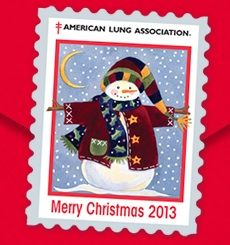 Free 2013 Christmas Seals from the American Lung Association.  See more #freebies , #deals & #coupons at ourfrugalfamily.net