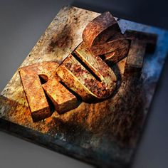 How to Create a Rusted Metal Text Effect in Adobe Photoshop