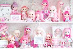 blythe is family, pink is friendly, year on an-ni-ver-sa-ry by launshae, via Flickr