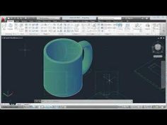 AutoCAD 2013 Tutorial: How to Convert 2D to 3D Objects - YouTube