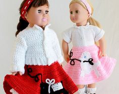 Summer Outings Outfits for 18 Inch Dolls Crochet von Maggiescrochet
