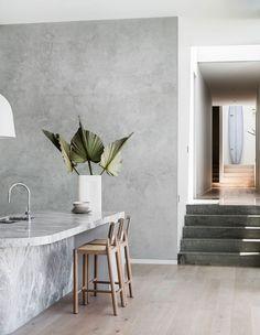 / Zinc Cladding, Brick Feature Wall, Breeze Block Wall, Steel Frame Doors, Mim Design, Prefab Homes, Open Plan Living, Mid Century Modern Design, Coastal Living