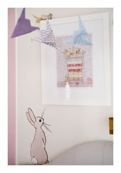 Such a cute use of boo wall sticker