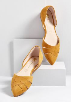 70e399895d4 Weave Between Sliver Wedge Mustard Crazy Shoes