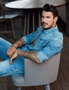 The World's Sexiest Greek Men - News Most Greek men of the world are all sexy. Here is a small sample of the world's sexiest famous Greek men. Beautiful Men, Beautiful People, Greek Men, Greek Gods, Tatted Men, Classy Men, Man In Love, Attractive Men, Man Crush