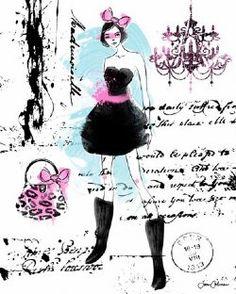 Catwalk Classic  Great for Teen/Tween Bedrooms  www.sweetnsourkids.com