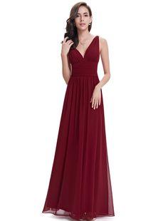 Ever Pretty Womens Double V Neck Sleeveless Chiffon Bridesmaids Dress 6 US Red http://www.amazon.ca/Pretty-Womens-Sleeveless-Chiffon-Bridesmaids/dp/B0063ASHSS/ref=sr_1_123?s=apparel&ie=UTF8&qid=1441758962&sr=1-123