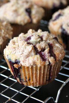 Farm Fresh Bakery Style Blueberry Muffins