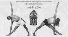 BKS Iyengar en Trikonasana. La práctica hace al maetro.