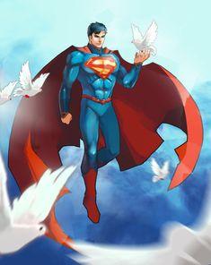 Superman by herroaya on DeviantArt Superman News, Superman Art, Superman Man Of Steel, Superman Wonder Woman, Superman Stuff, Batman, Dc Comics, Action Comics 1, Marvel Fan Art