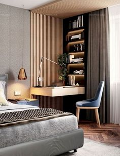 Everywhere you look you find things are being updated. The best way to start modernizing in your life is to have a modern bedroom. Modern bedroom decor can be relatively simple to do. Modern Minimalist Bedroom, Interior Design Minimalist, Decor Interior Design, Bedroom Modern, Minimalist Apartment, Stylish Bedroom, Minimalist Décor, Bedroom Colors, Home Decor Bedroom