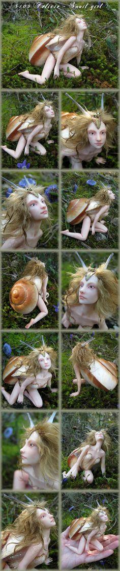 OMG polymer clay dolls