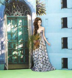 Juliana Mende for LAFAYETTE OLGA PIDRAHITA photo by Camilo George