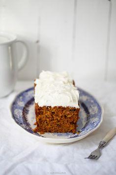 Carrot cake Kastenkuchen-Rezept
