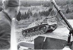 "Column of StuGs from Gebirgs Division ""Prinz Eugen"", Yugoslavia, September 1944 Ww2 Photos, Photos Du, Prinz Eugen, Tank Destroyer, Armored Fighting Vehicle, Ww2 Tanks, Military Diorama, World War One, Fotografia"
