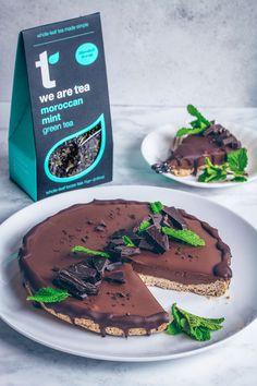 Chocolate Mint Mousse Pie (Vegan & Gluten-free) - UK Health Blog - Nadia's Healthy Kitchen