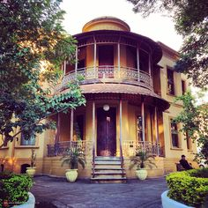 Mansion from the 19th century at Guaianases Street - Sao Paulo, Brazil