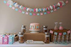 Alice in Wonderland milk and cookies party.
