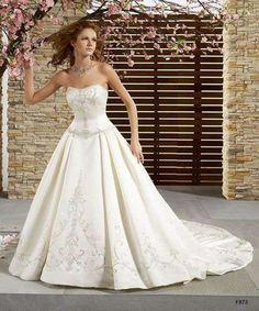 Vestidos de novia baratos: Fotos de los mejores diseños - Tendencias de moda nupcial para 2014, vestido de novia barato