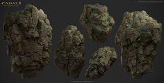 UVMAX - 3D Environment Artist - 2013D Cabal2 Cliff & Rock