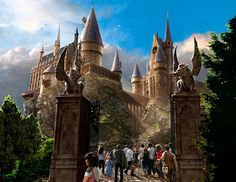 Of course for anyone that knows me... Hogwarts is a big part of the perfect school since it's my dream school! :D So it'll be a boarding school in this beautiful castle, teaching us how to use magic!
