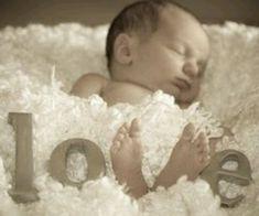 Sample baby pose...love!