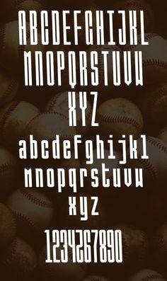 Ballbase Free Font Letters