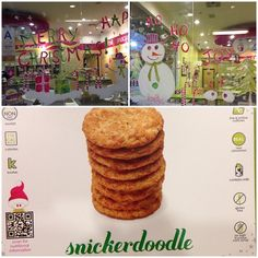 """Looking very festive Menchie's Redondo @menchiesredondo's photo: """"Come try our holiday flavor Snickerdoodle❤ ️#menchiesredondobeach #menchiesredondo #menchiesfrozenyogurt #menchies #menchiesfroyo #frozenyogurt #froyo #snickerdoodle"""""""