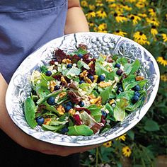35 Quick & Delicious Summer Salads | Berry Delicious Summer Salad | SouthernLiving.com